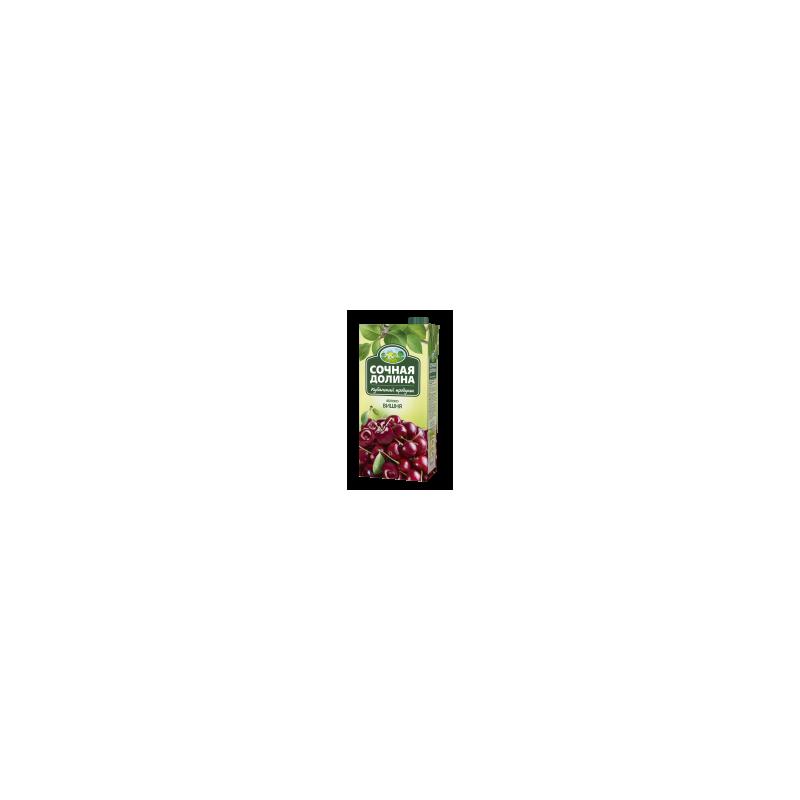 """Яблочно-вишневый нектар """"Сочная Долина"""" 0,97гр"""