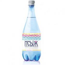 """Вода минеральная лечебно-столовая """"Псыж"""" 1л."""
