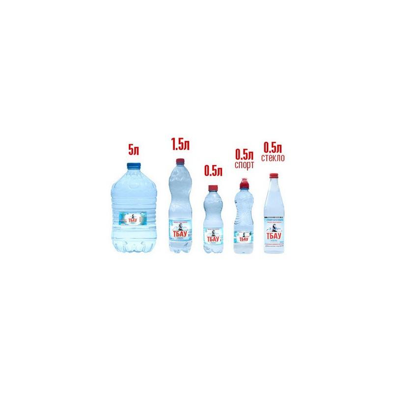 Вода питьевая Тбау , 1,5л. газ,не наз