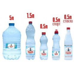 Вода питьевая Тбау, 5л.
