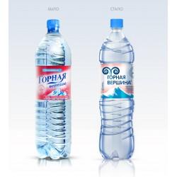 Вода питьевая Горная вершина, 1,5л.