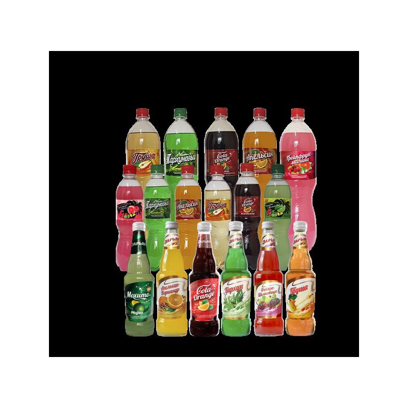 """Напиток """"Кола - Апельсин"""" Дарьял 1,5 л."""