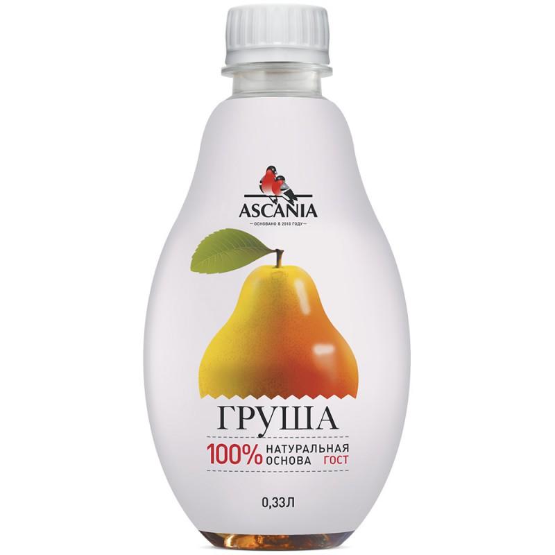 "Лимонад ""Ascania"" Груша, 0,33 л."