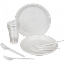 Набор одноразовых тарелок (12шт)