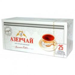 """Чай """"Азерчай"""" черный с бергамотом, 25 пак"""